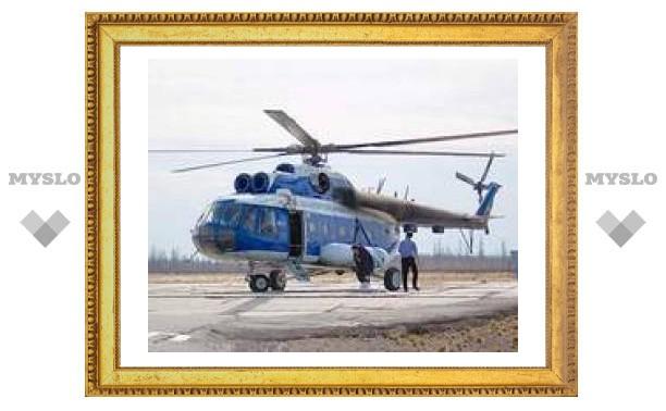 Поиски пропавшего Ми-8 временно прекращены