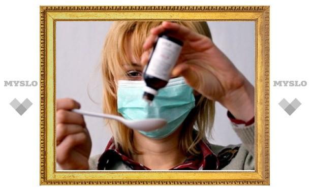 Свыше 3,5 тысяч жителей Тульской области получили диагноз ОРВИ