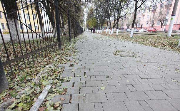 Туляков приглашают принять участие в приемке тротуаров