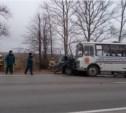 В аварии под Бородино «семёрка» вылетела на встречную полосу