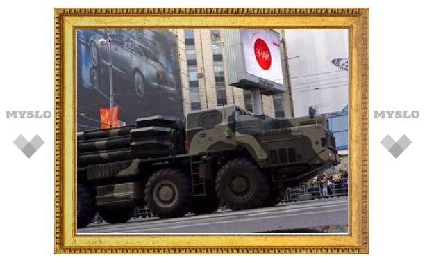 """Россия разместила в Южной Осетии системы """"Смерч"""""""