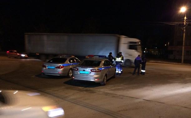 Московские полицейские устроили в Туле облаву на водителей