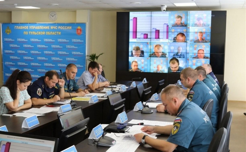 В мае сотрудники тульского ГУ МЧС выезжали на вызовы 2022 раза