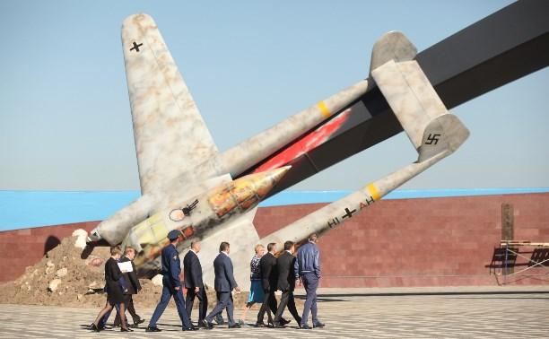Полномочный представитель Президента России в ЦФО осмотрел мемориал «Защитникам неба Отечества»