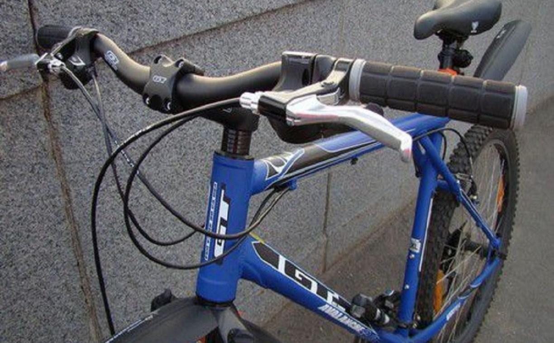 В Туле мужчина украл с витрины магазина велосипед