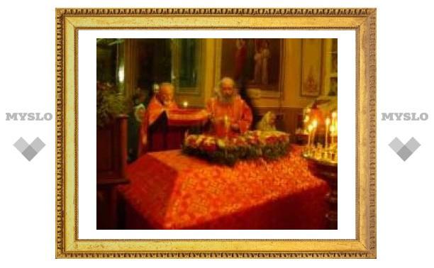 Мощи Дмитрия Солунского привезли в Тулу