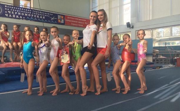 Юные тулячки завоевали медали на первенстве Сочи по спортивной гимнастике