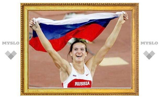 Елена Исинбаева в Швеции установила очередной мировой рекорд