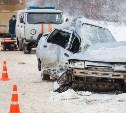 Под Щёкино 30-летняя женщина на «десятке» погибла в столкновении с автобусом