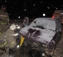 На М-4 автомобиль «Ока» врезался в попутный «Форд»