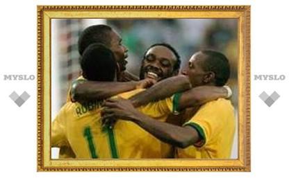 Сборная Бразилии одержала первую победу на Кубке Америки