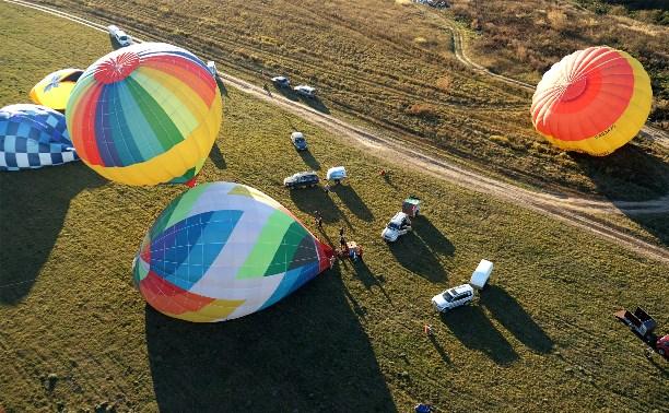 В Туле прошел осенний парад воздушных шаров