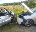В Тульской области в лобовом столкновении пострадали три человека