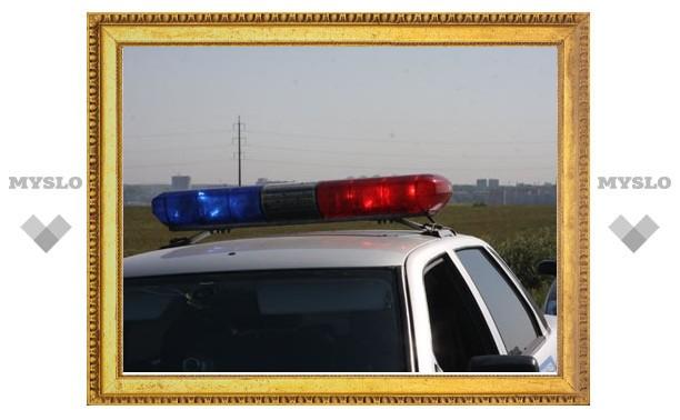 В Тульской области двое полицейских попали в ДТП