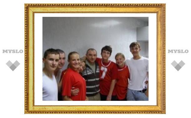 """Тульские школьники попали в """"Счастливый рейс"""""""