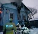 Под Тулой 18 пожарных тушили жилой дом