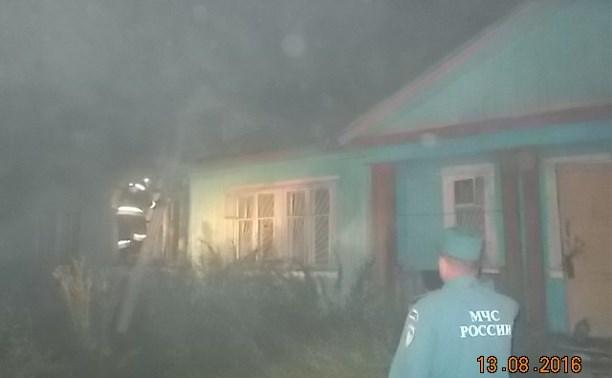 Киреевские пожарные спасли четырех человек