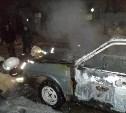 В Туле опять сгорели два автомобиля