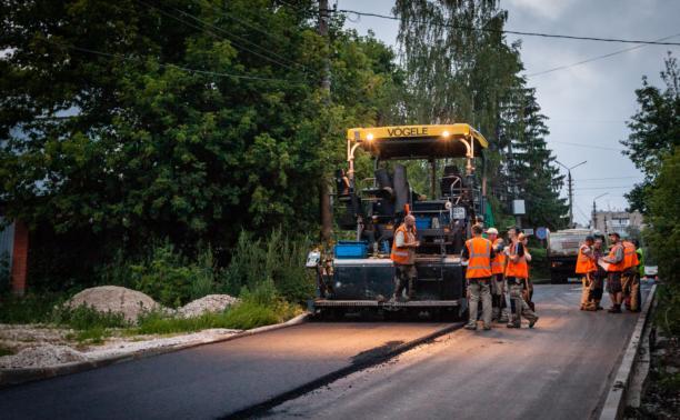Тульские дороги отремонтируют в срок