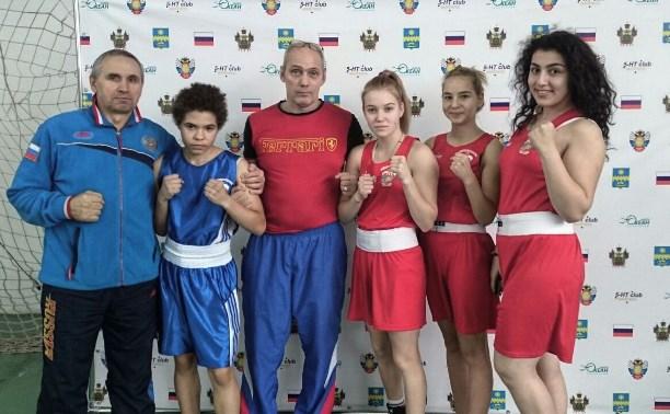 Тульские боксерши завоевали бронзовые медали в Анапе
