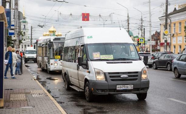 За припаркованные во дворах маршрутки перевозчиков будут штрафовать