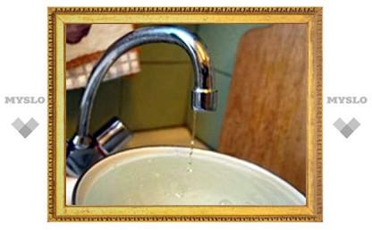 Где в Туле отключат воду в среду 10 октября