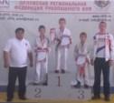 Тульские рукопашники собрали урожай медалей в Орле