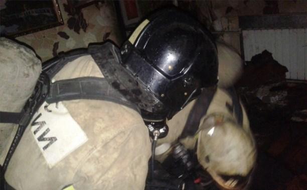 В Новомосковске в результате пожара погиб мужчина