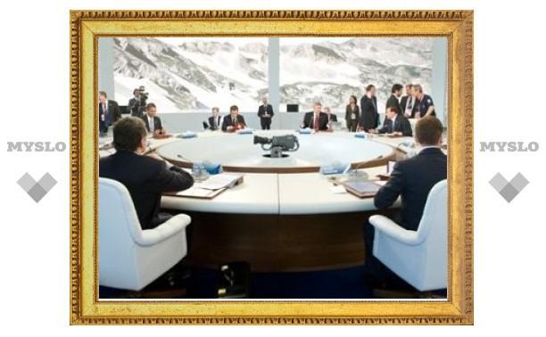 Лидеры G8 завершили первый день саммита декларацией по Ирану