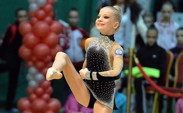 Тульские гимнастки  приняли участие в первенстве округа