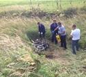 Мертвый мотоциклист несколько дней пролежал в канаве