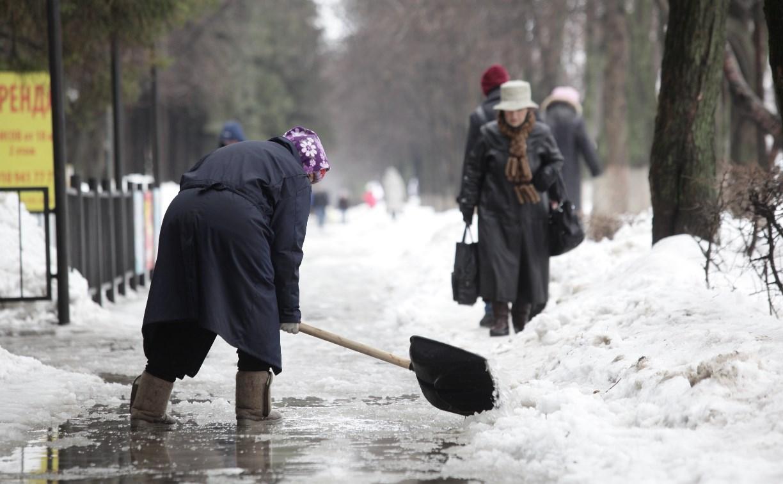 С 1 на 2 марта в Туле выпало 77% среднемесячной нормы осадков