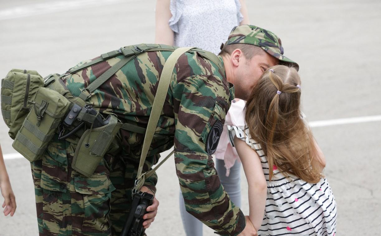 Тульские бойцы СОБР и ОМОН Управления Росгвардии вернулись из командировки с Северного Кавказа