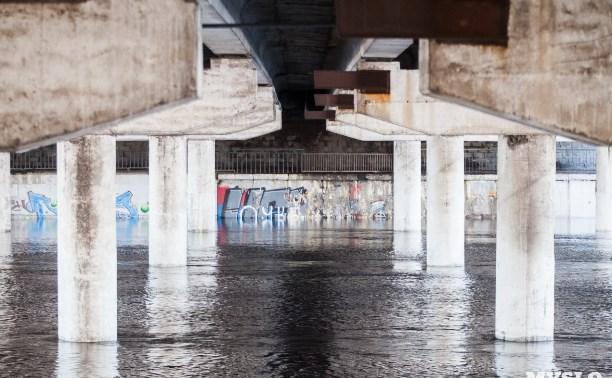 Уровень воды в Упе опустился на 5 см