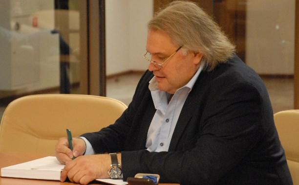Аркадий Мамонтов провел съемки фильма в тульском «шлеме»