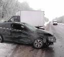 На трассе «Тула-Новомосковск» столкнулись «Опель» и грузовик