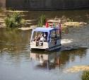 Часовая прогулка по Упе на водном трамвайчике будет стоить 500 рублей
