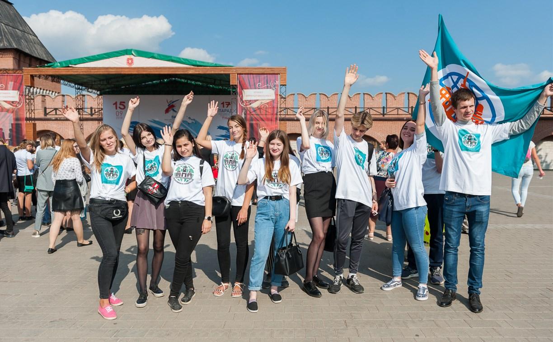 Студенты института им. Н. Д. Демидова присоединились к Параду российского студенчества
