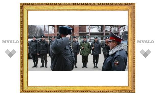 Тульские милиционеры поехали в Чечню