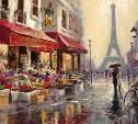 Тулякам предлагают нарисовать «Париж для влюбленных»