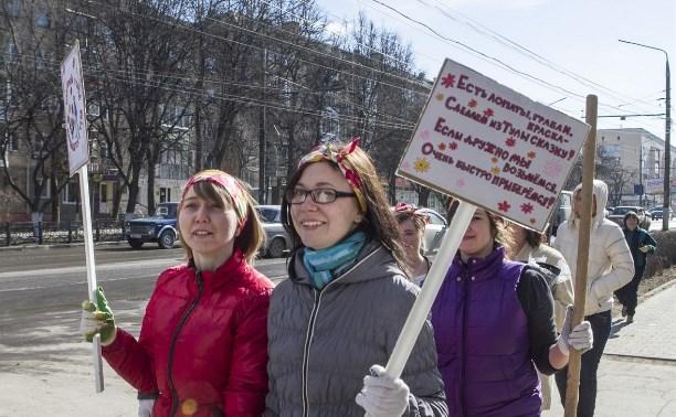 28 марта  в тульском регионе пройдёт общеобластной субботник