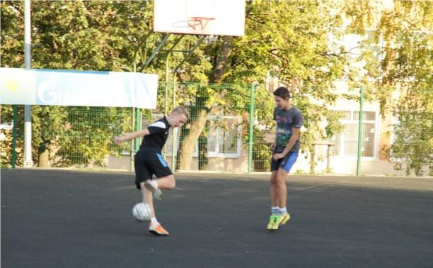 В Туле появится поле для большого футбола