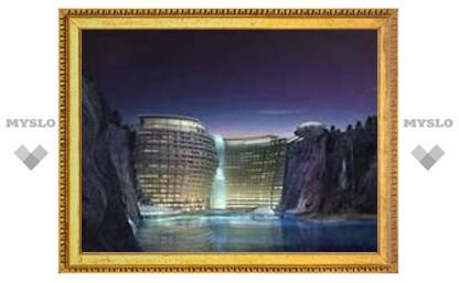 В Китае построят отель с подводными номерами