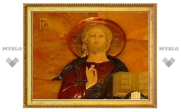 Царскосельская янтарная икона становится новым жанром искусства