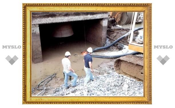 Ремонт белёвского моста подходит к концу