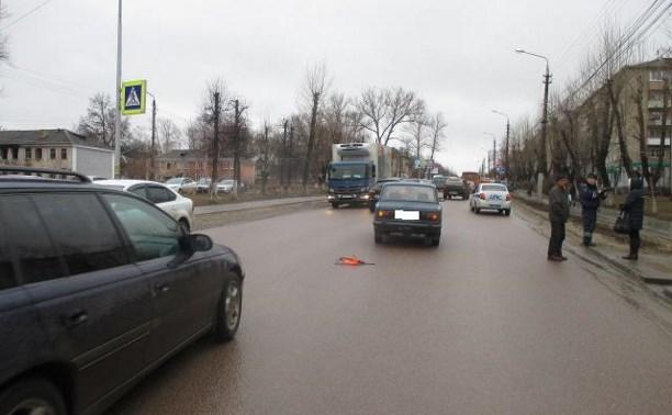 На выходных в ДТП в Туле и в Плавском районе пострадали два пешехода