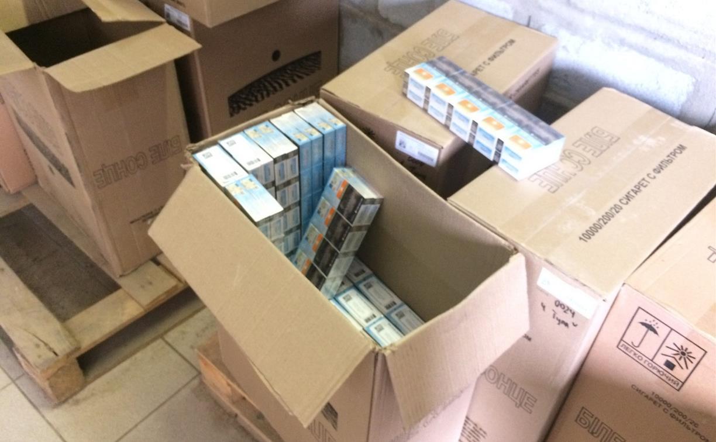 Тульские полицейские «накрыли» склад со 121 тысячей пачек контрафактных сигарет