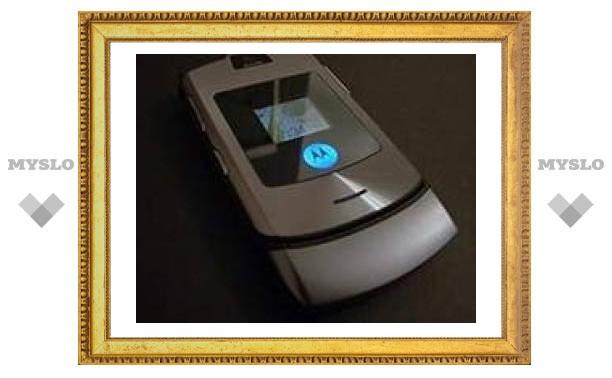 Компания Motorola стала третьим в мире производителем телефонов