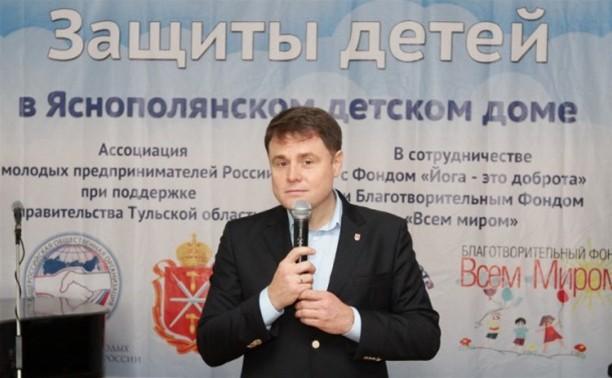 Владимир Груздев будет перечислять свою зарплату в детский дом