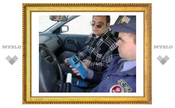 Тульских водителей проверят на трезвость